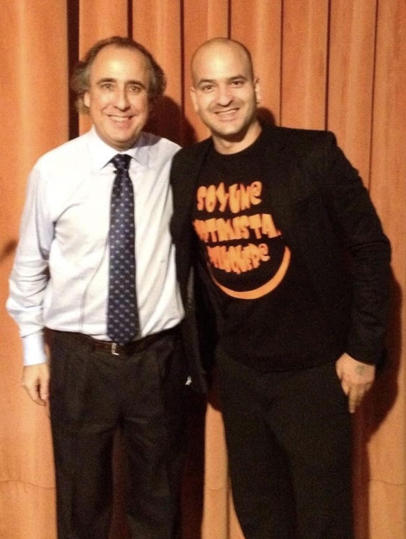 Jesús Gutiérrez Peluqueros con Emilio Duró