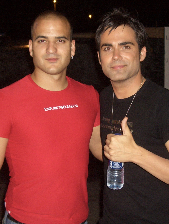 Jesús Gutiérrez Peluqueros con Naím Thomas