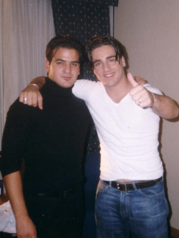 Jesús Gutiérrez Peluqueros con David Bustamante