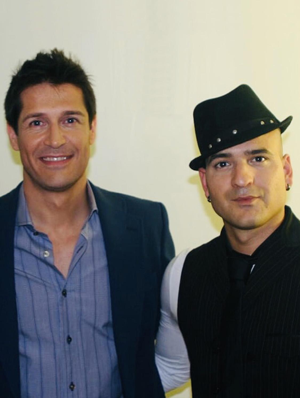 Jesús Gutiérrez Peluqueros con Jaime Cantizano